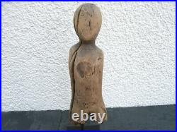 1 Ancient Inuit Figure, Wood, Eskimo, Inuits, 500- 1000 AD, VERY, VERY RARE