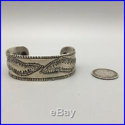 1890s Handmade, Ingot, Navajo Cuff Bracelet! Rare