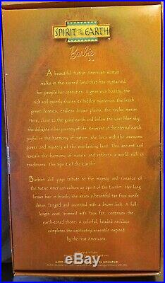 2001 BARBIE NATIVE AMERICAN COLLECTION SPIRIT OF THE EARTH NRFB! Rare