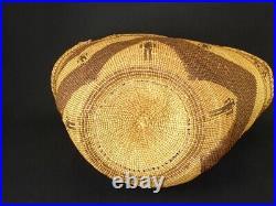 A Large and Rare Skokomish Northwest, Native American Indian basket c. 1920