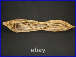 A Rare Washoe Fish Trap, Native American Indian basket, circa 1908
