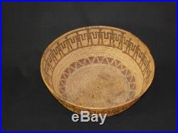 A Very Rare Kawaiisu Friendship Gift Basket, Native American Indian, c1895