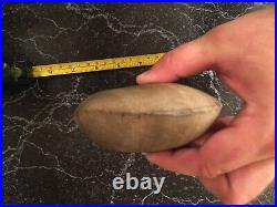 Authentic Native American Indian Artifact Stone Axe Ohio River Indiana Rare