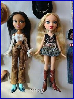 Bratz Doll Wild Wild West Kiana Cloe MGA Entertainment Rare 2005 Lot Set Rodeo