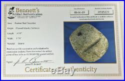 Certified Rare Channel Islands California Chumash Ceremonial Pendant Bennett COA
