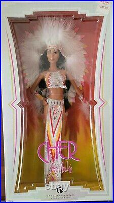 Cher Bob Mackie Barbie Black Label Collection Rare Half Breed Native American