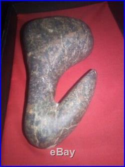 Chumash pelican stone California native relic rare