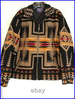 Classic Pendleton Blanket Coat Portland Jacket Native American Rare Sold Out L
