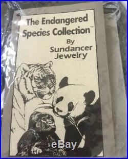 Endangered Species 18 FETISH Sundance Liquid Silver Wildlife Tribal Animal RARE