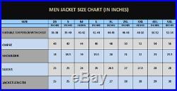 Men's Native American Rare Buckskin Leather Jacket Coat War Shirt Brand New