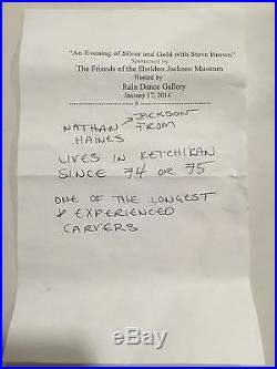 Museum Quality Tlingit Ketchikan Alaska Bracelet Nathan Jackson 1973 Rare