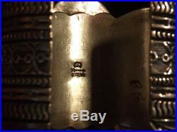 Navajo Darryl BicentiRare Variscite, Spiny Oyster & Sterling BraceletSTUNNING