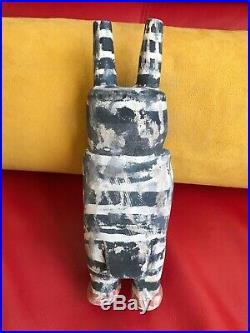 Neil David Sr Hopi Clown Kachina Vintage Rare 1975 Bellyachers 8.5 Tall