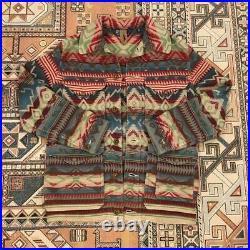 Polo Ralph Lauren Rare Men Fashion Jacket Coat Native American Medium M F/s