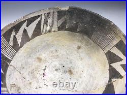 RARE Ancient Anasazi Chaco Native American Warp Form Pouring Bowl Pottery