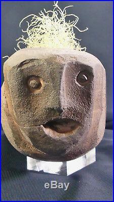 RARE Ancient Native American Shaman's Stone Human Effigy Pipe! Fort Ancient, Ohio