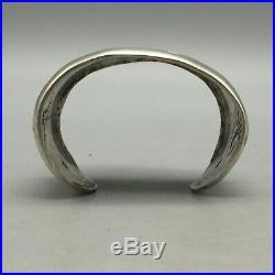 RARE! Hopi Overlay Bracelet by Harold Koruh