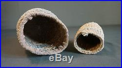 Rare 19th Century Pair of Native American Pacific NW Yakima Sally Bag