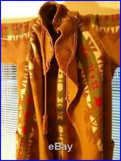 Rare Antique Authentic Pendleton Indian Native American Trade Robe 1915-1920