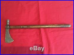 Rare Antique Native American Indian Forged Iron Axe/Hammer Tomahawk