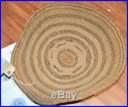 Rare California Pit River Achumawi Indian Gambling Tray Native American Basket