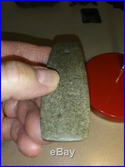 Rare Native American Hardstone Pendant