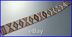 Rare Native American Indian Blackfoot beaded belt