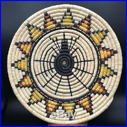Rare Vintage Hopi Coil Basket Native American