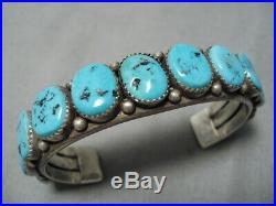 Rare Vintage Hopi Native American Ramie Naminga Sterling Silver Bracelet