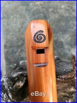 Stephen DeRuby Master Maker Bass D4 Rare Used Native American Style Flute