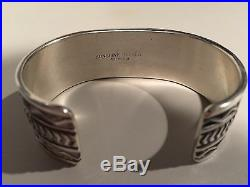 Sunshine Reeves Vintage Sterling Silver Bracelet 53.2 Grams Native American Rare