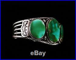 Terry Martinez Rare Gem Grade Royston Turquoise Bracelet