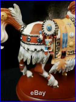VERY RARE BEAUTIFUL NATIVE AMERICAN Carousel Horse Lenox