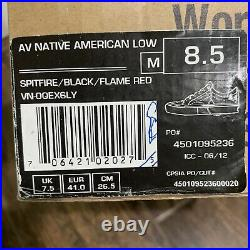 Vans x Spitfire AV Native American Low Mens 8.5 Supreme Rare