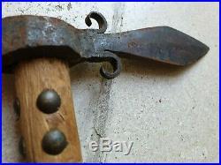 Very Rare Antique Spontoon Tomahawk, mid 19th century Lipan Apache