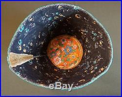 Very Rare NW Nez Perce Yakama Fully Beaded Ceremonial Hat People of The World