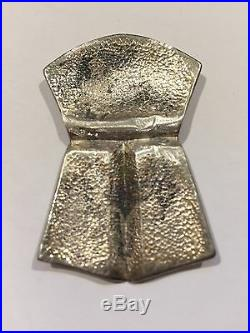 Vintage Sterling Silver Tlingit Tina'a Klukwan Alaska Rare