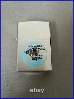 Vtg 1975 Tecumseh Products 2-sided Native American Chief Zippo Lighter Mib Rare