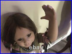 Winonah by Monica Levenig rare 32 Native American euro Masterpiece doll